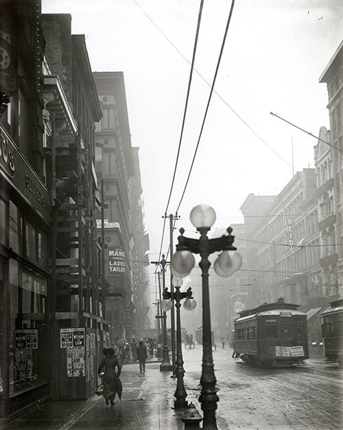 Washington Avenue at Seventh Street