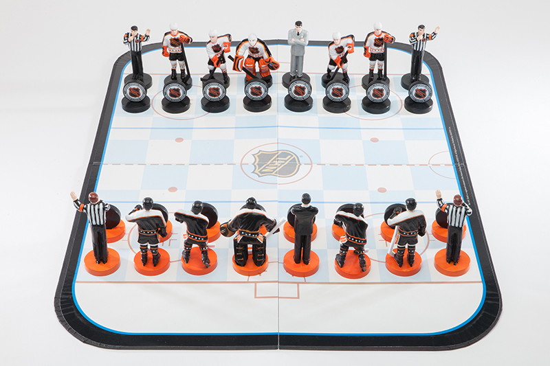 NHL Collectors Edition Chess Set, 2003