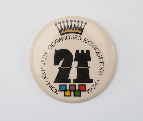 Pin from the 1974 Olympiad