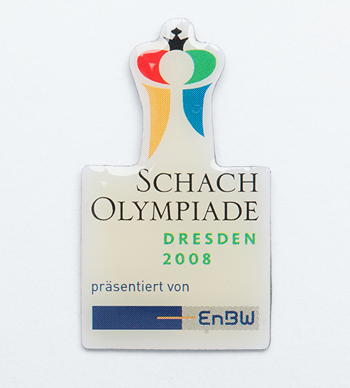 Pin from the 2008 Olympiad
