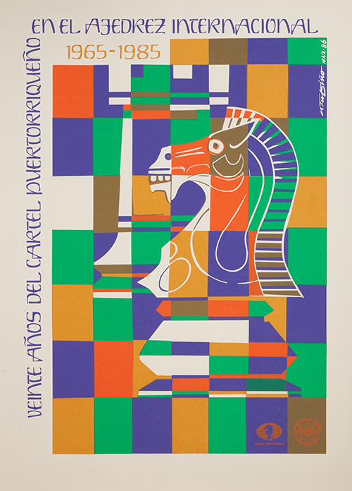 Rafel Tufiño, Twenty Years of the Puerto Rican Poster in International Chess