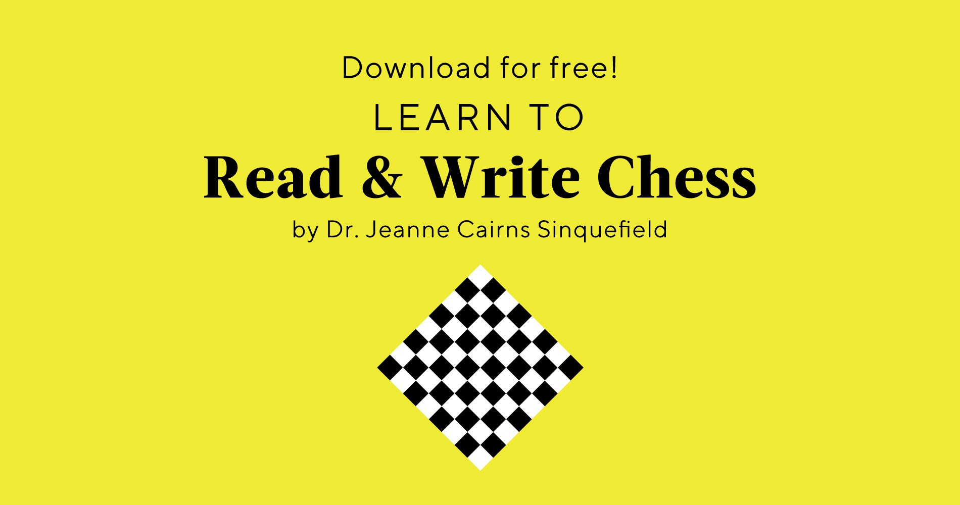 Learn to Read & Write Chess Download