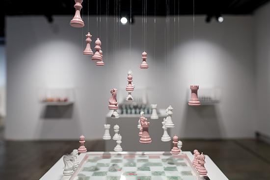 Daniela Raytchev, Glass Ceiling, 2018