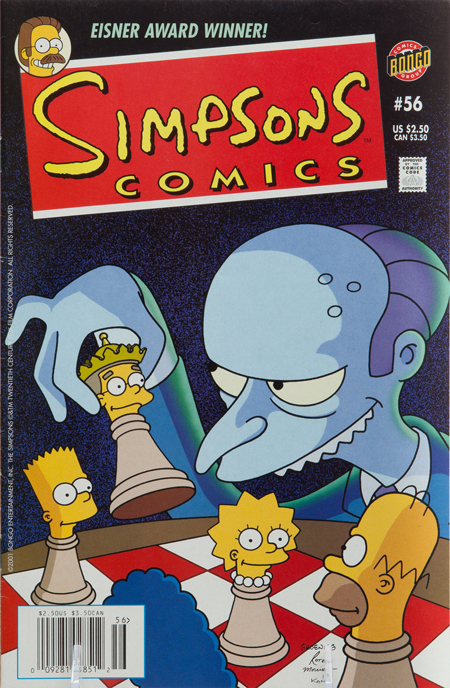 Simpsons Comics, No. 56