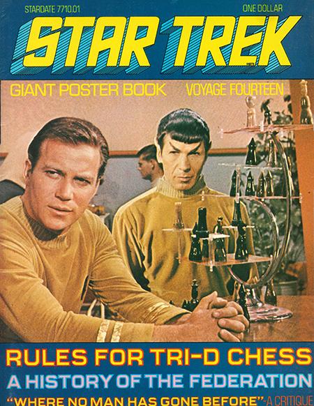Star Trek Rules for Tri-D Chess, 1976
