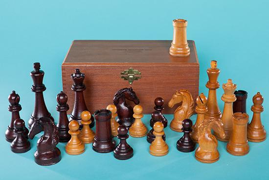Steiner Master Chess Set, 1947