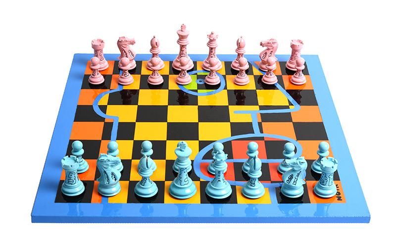 Thierry Noir, Chess Noir, 2018