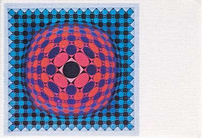 Vega-chess-2 Postcard, 1968-1969