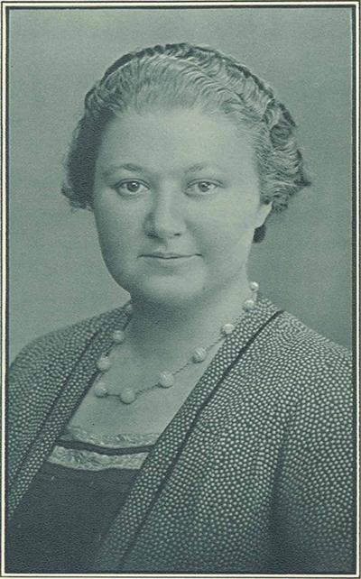 Vera Menchik, 1933