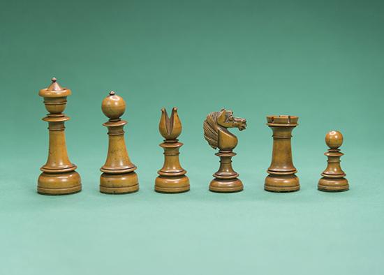 Wooden Edinburgh Set, 1840