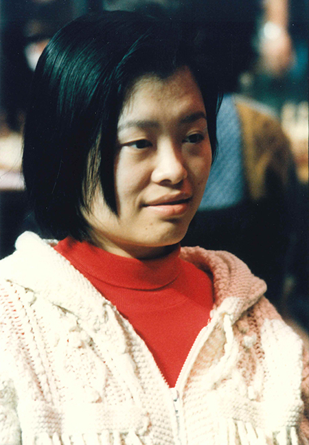 Xie Jun at the 1994 Chess Olympiad, Moscow, Russia