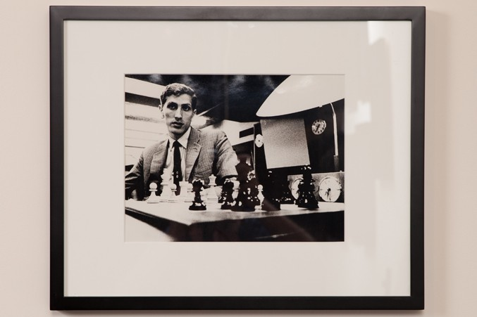 Photographer unknown Bobby Fischer at the 1966 Piatigorsky Cup 1966 Photograph Collection of the World Chess Hall of Fame,  gift of the family of Jacqueline Piatigorsky