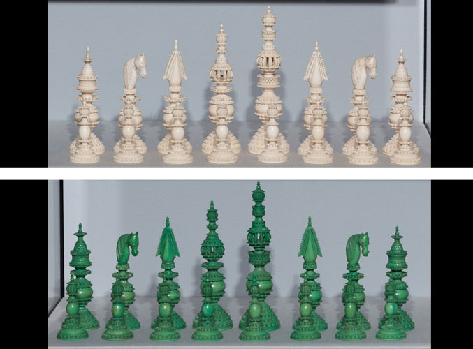 Encore! Ivory Chess Treasures from the Jon Crumiller
