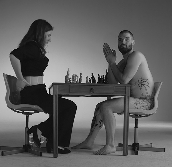Jennifer Shahade and Daniel Meirom, Naked Chess