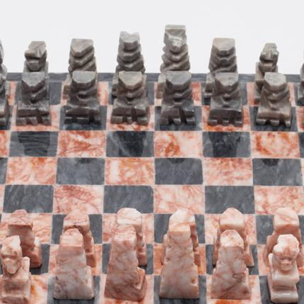Mexican Hand Carved Chess Set, 2016